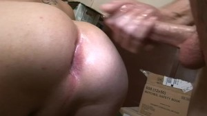 Raw anal behind the bar - Factory Video