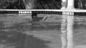 Swallowing cum after a swim - Factory Video