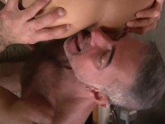Picture Blindfolded and bent over - Factory Video
