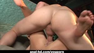 Hillary Scott takes a fat schlong in her butt
