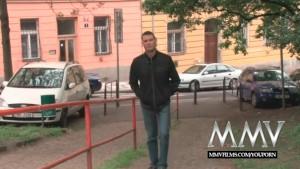 MMV Films German teen fucked hard outdoor