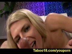 Amanda Tate Cheers Up Stepbro