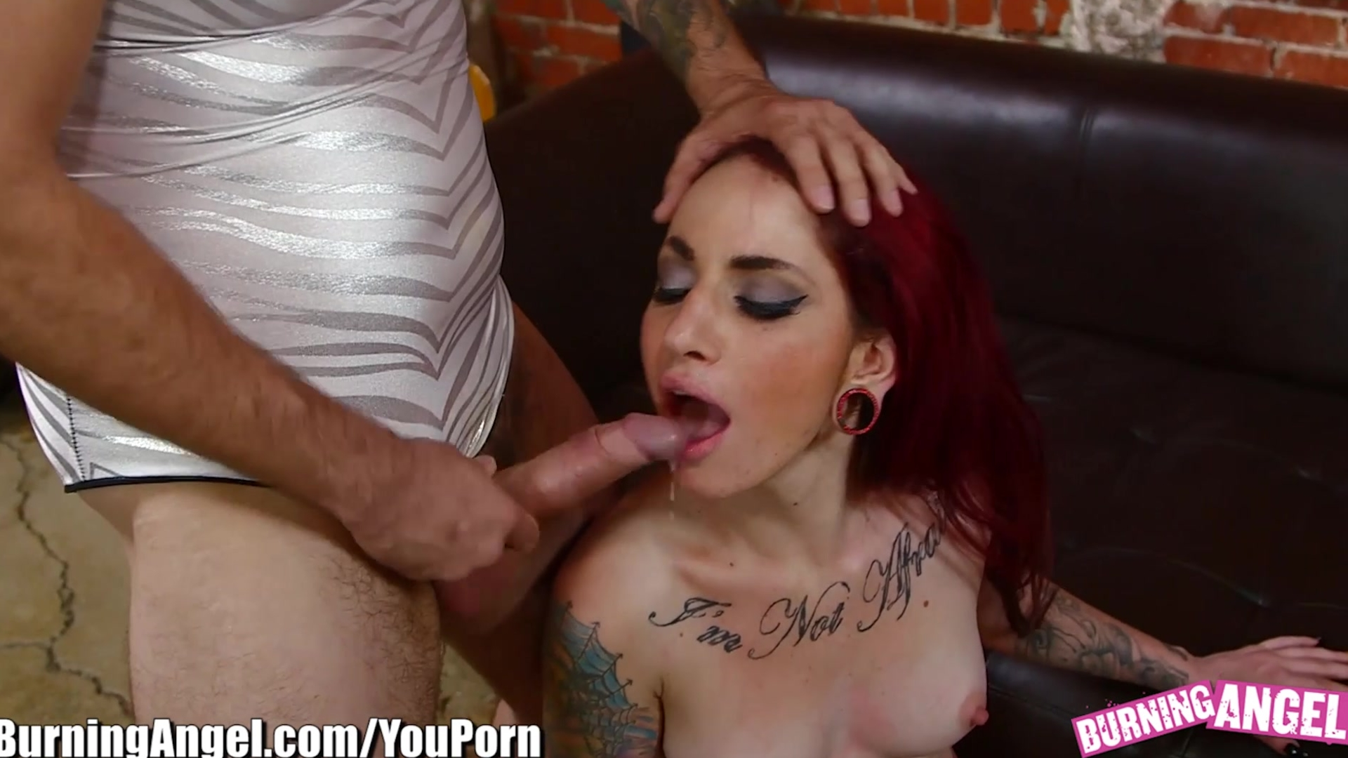 Evilangel punk chick hard deepthroat