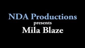 Mila Blaze gets creampied