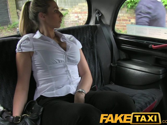 fake taxi police woman