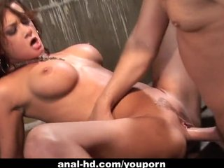 Anal Pornstars movie: Tory Lane takes a monster up her ass