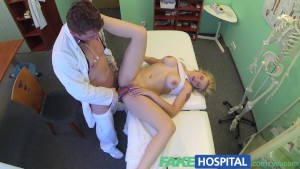 FakeHospital Beautiful busty blonde loves a man in uniform