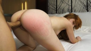Ginger Spanish girl fucked by a Big Cock