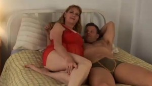 Cute chubby MILF has lovely big tits