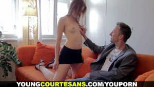 Young Courtesans - Cumsprayed for an extra hundred