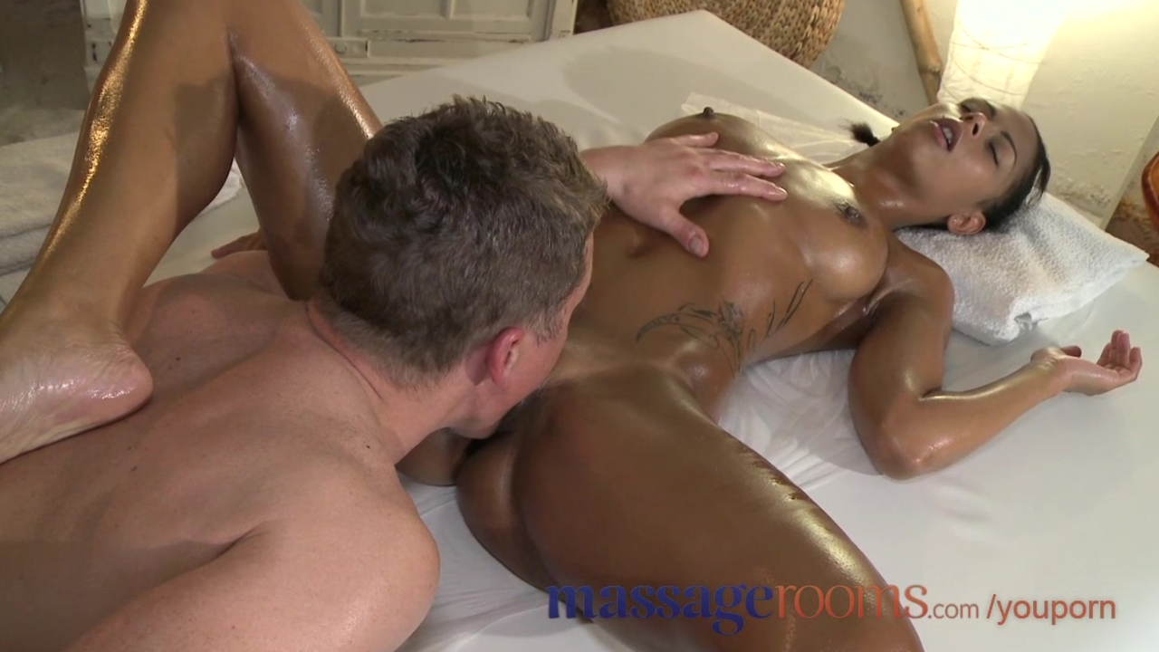 Ebony Massage White Guy