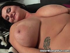 - Big titted mature mom ...