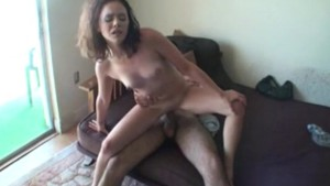 Huge Load All Over Her Face - Amateur District