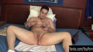 First Timer Amateur Skyler Masturbating