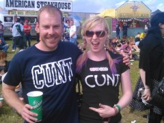 YouPorn Girl Video Blog #17 - Satine Does Download Festival