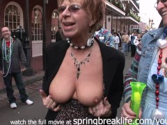 mardi gras flashers public real amateur coeds and matures