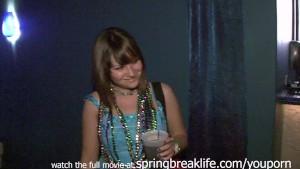 Night Club flashers real spring break teens