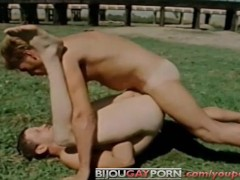 Young Men Fucking Outdoors - Vintage Gay Porn - THE RIVERMEN (1981)
