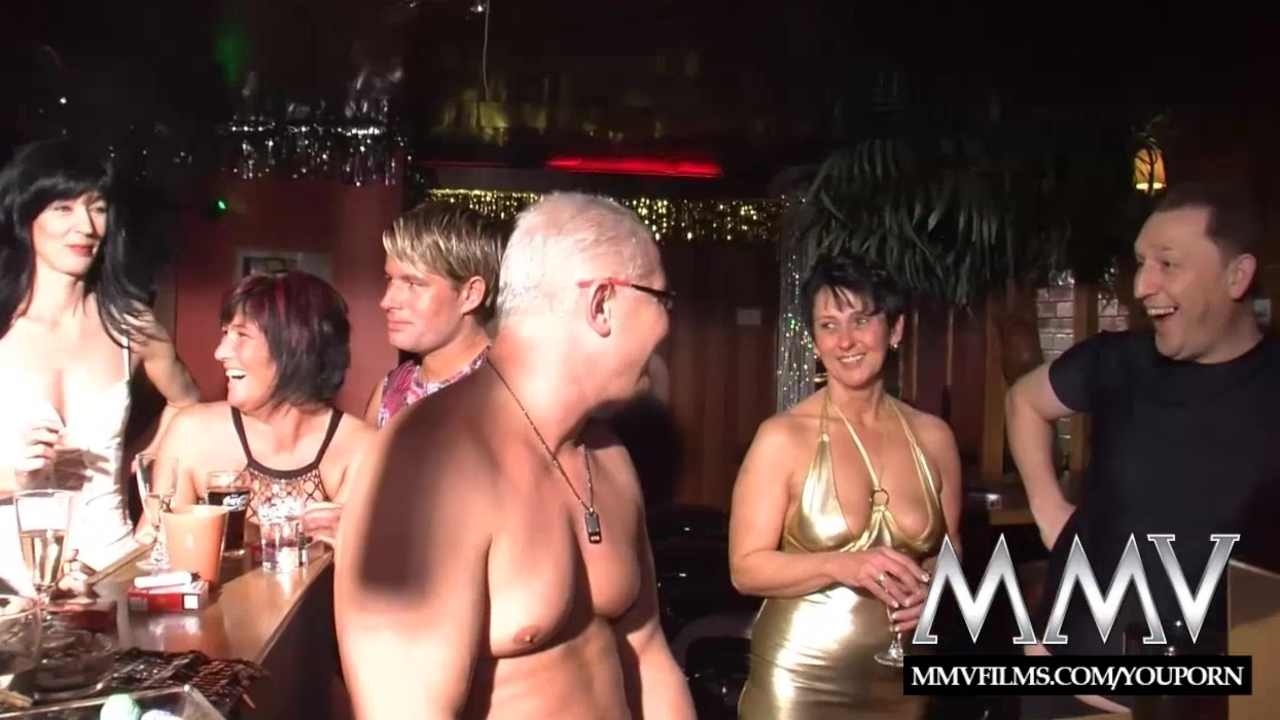 MMV Films wild mature swingers orgy party