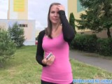 PublicAgent Young slim babe fucked outdoors