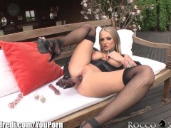 RoccoSiffredi Solo with ass and vag toys