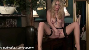 Brookie Little in Stocking Tease by APDNUDES.COM