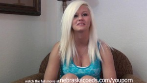 fresh faced blonde first time naked casting couch video