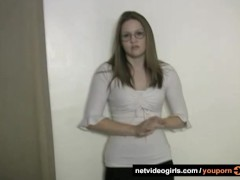 Amy's Calendar Audition - netvideogirls