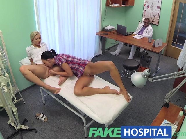 Fakehospital sexual therapy causes new patient to squirt - 1 part 9