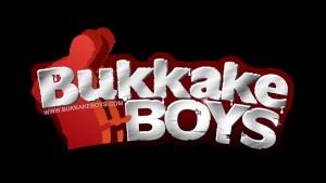 Cute bukkake boy gets his asshole penetrated bareback style