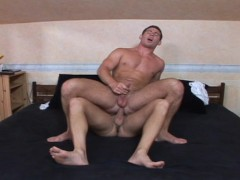 Roommate starts licking his buddies straight buddies ass. He enjoys it - Lucas Entertainment