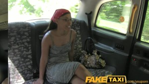 FakeTaxi Cock loving passenger sucks off taxi man