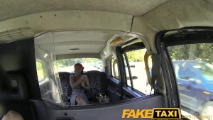 FakeTaxi Cock loving passenger sucks off taxi man