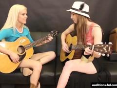 Guitar Practice turns to Porn.