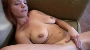 Solo Busty Babe Plays With Natural Body