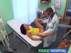 FakeHospital Doctor wants to help cheating patient concieve with a fertile creampie