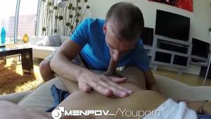 MenPov Studs picks up cute skateboarder for some car fucking