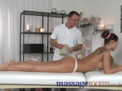 Massage Rooms Horny big tits babe loves every inch of big cock deep inside