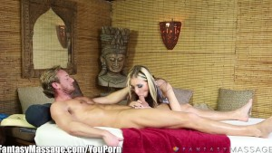 FantasyMassage Awesome BJ at the Rub and Tug