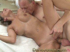 YouPorn Movie:DaneJones Silver haired beauty...