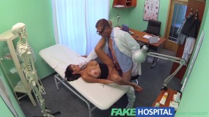 FakeHospital Doctors turn to get his hands full and his cock deep inside the busty horny patient