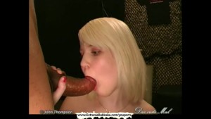 Petite young whore gets her cute face covered with cum