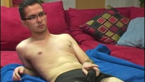Horny Straight Guy Christian Masturbating