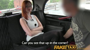 FakeTaxi Sophisticated ginger women fucks taxi driver