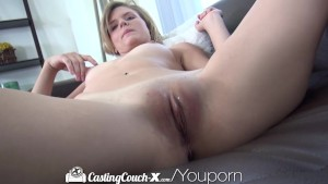CastingCouch-X Tall dancer shakes her ass for the camera