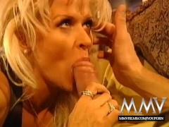 MMV Films Busty Blonde Mature enjoys a good fuck