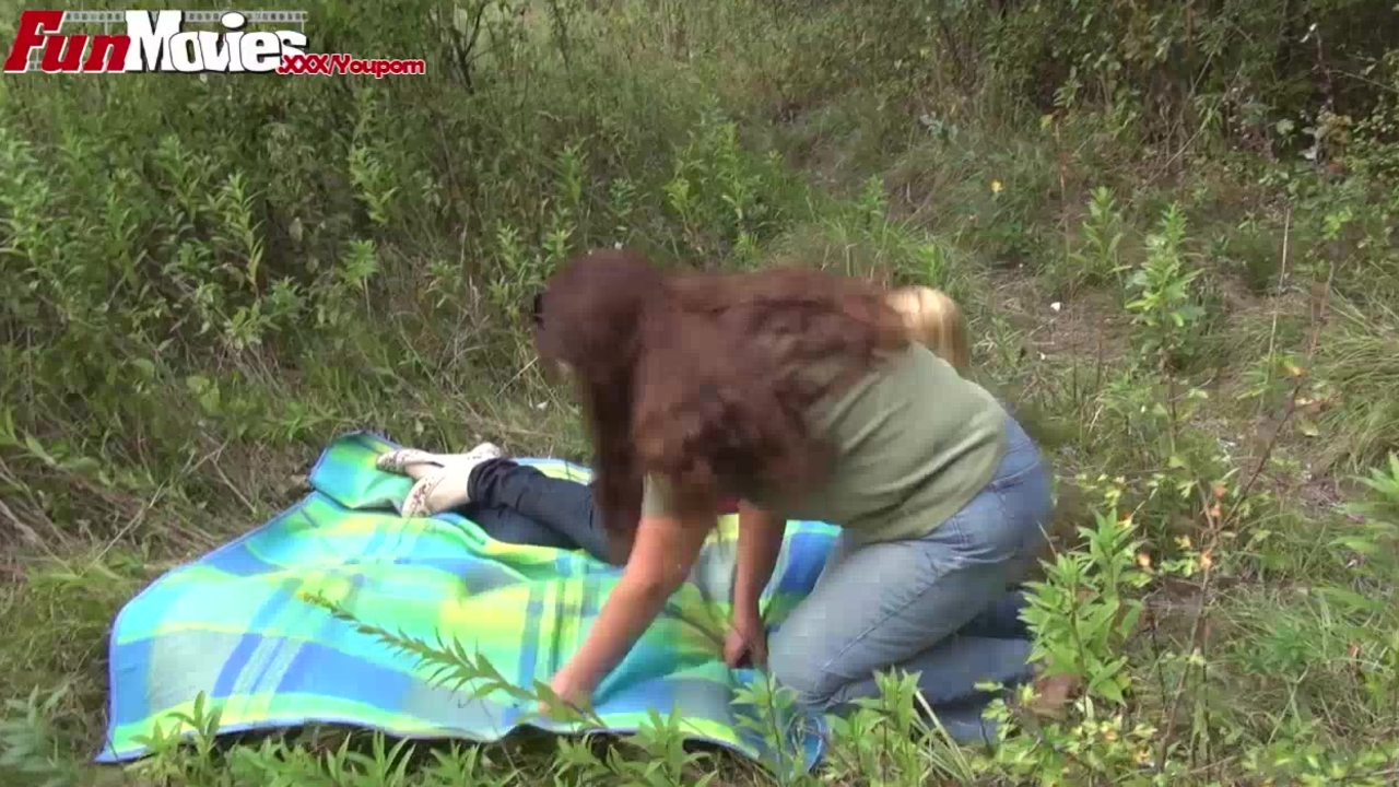 FunMovies Amateur Mature Lesbians fucking in the forest
