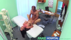FakeHospital Saucy sexy patient seeks and seduces doctors cock after friends recommendation