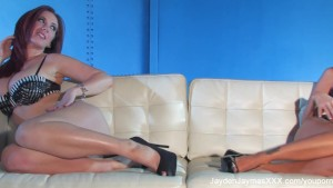 Jayden Jaymes Blue Wall Threesome