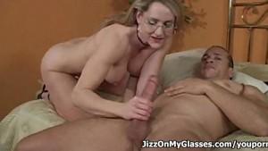 Porno Lover Lori Lust Sucks Giant Cock for a Creamy Facial